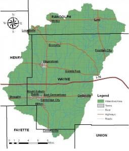 West Fork Testing Sites